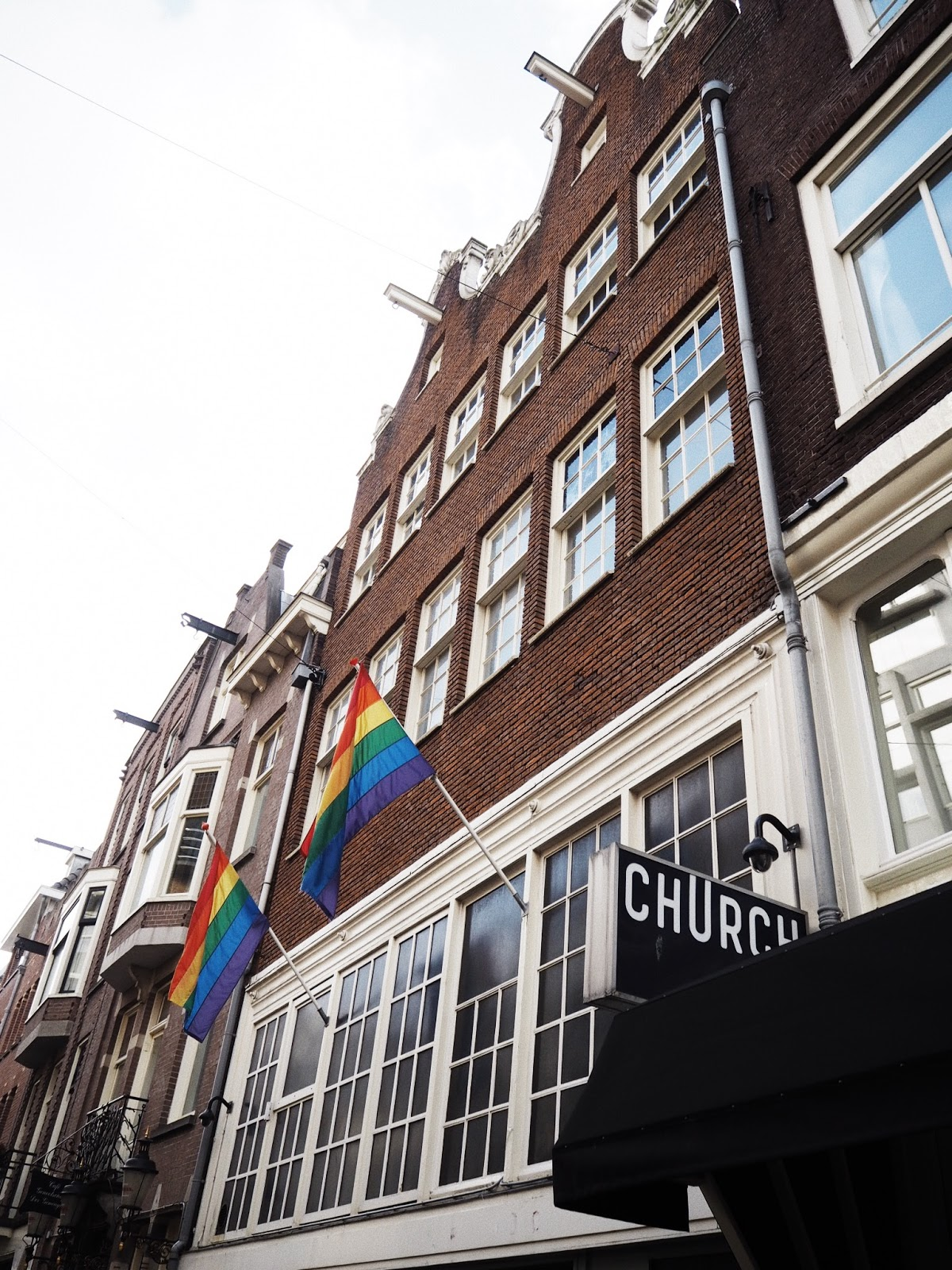 Гей места в амстердаме