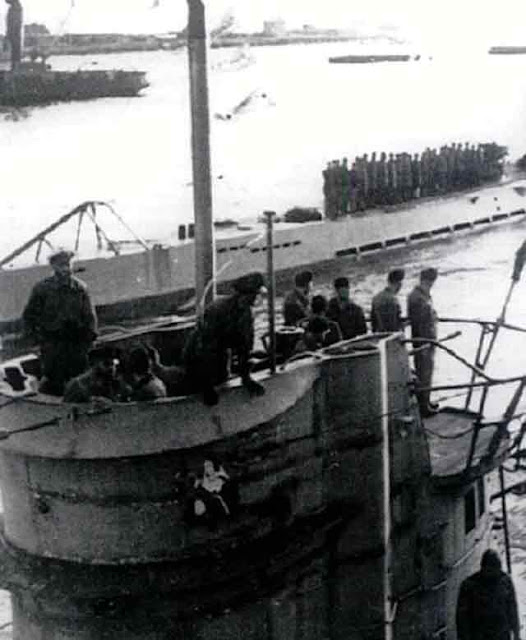 U-126 at Lorient, France on 13 December 1941 worldwartwo.filminspector.com
