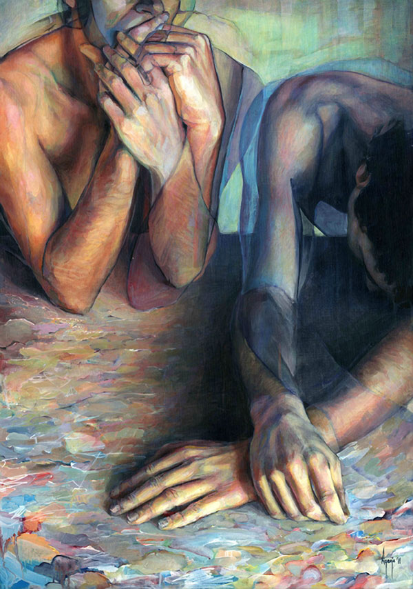 Paintings by David Agenjo 5