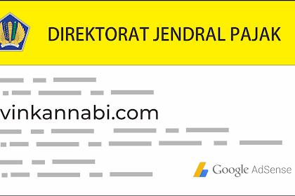 Pajak untuk Google Adsense