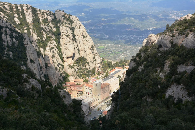 Montserrat city from above