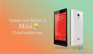 Cara update rom xiaomi redmi 1S ke miui 8 global stable version
