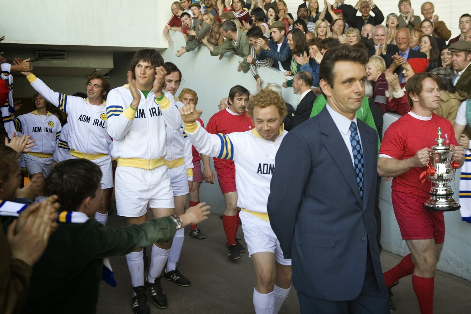 Fotograma de la película The Damned United