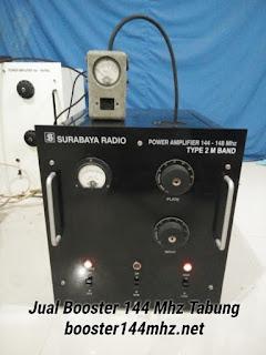 Booster 144 Mhz Tabung 1000 W Lengkap dengan Power Supply Tinggal Colok Listrik