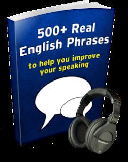 500 Real English Phrases (Audio/Pdf)