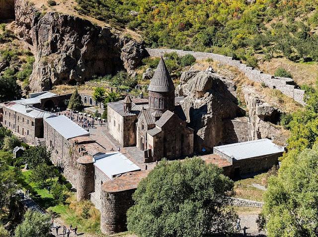 La UNESCO brindó protección al monasterio Geghard de Armenia