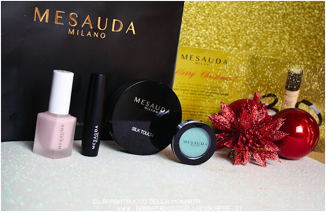 Mesauda makeup nails eyeshadow powder lipstick review