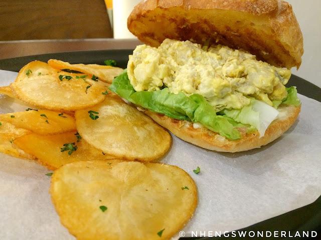 Bluesmith Coffee & Kitchen - Chicken Egg Salad Sandwich