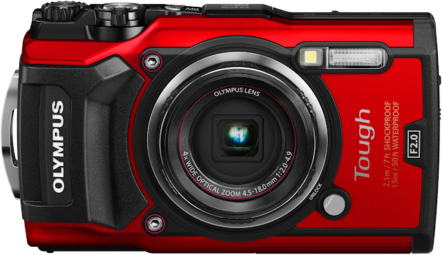Olympus Tough TG-5 in Red