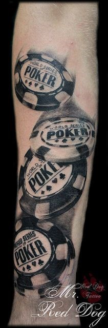 Poker Chips Tattoo