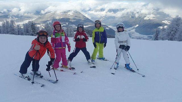 Дети школы Каштан на обучении в Австрии Штубай