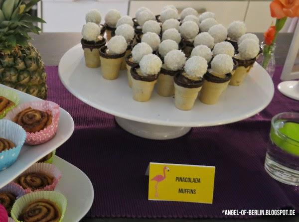 Pinacolada Muffins
