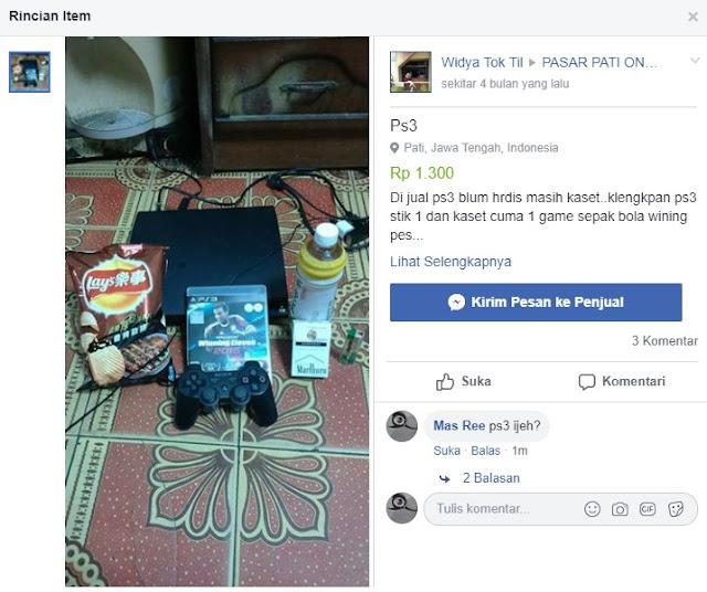 Beli PS3 murah, harga 800 ribu