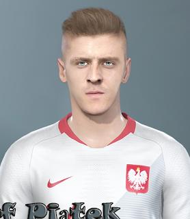 PES 2019 Faces Krzysztof Piątek by Prince Hamiz
