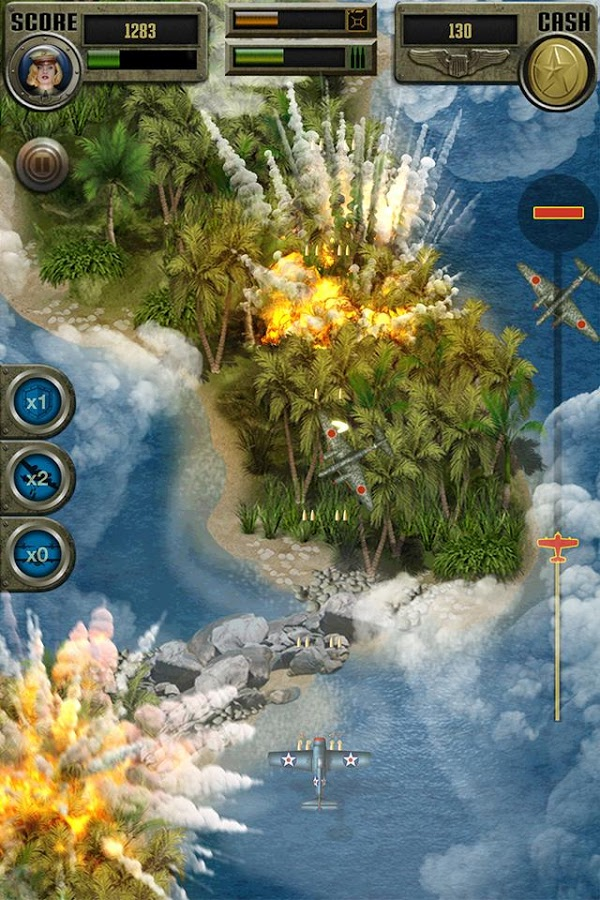 Air Strike WW2 Fighters Sky Combat Attack MOD APK Terbaru
