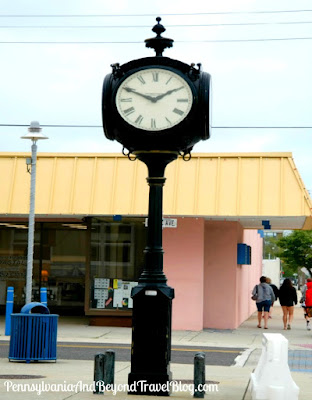 Wildwood Crest Savings Bank Town Clock in New Jersey