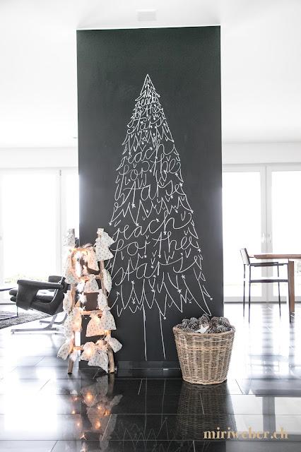 Chalkboard beschriften, Chalkboard lettering, Christmas Chalkboard, Advent chalkboard, Tannenbaum zeichnen, Tannenbaum lettering, Tannenbaum mit Kreide, schön schreiben, Kreidetafel beschriften Schweiz, DIY Blog Schweiz, DIY Bloggerin, Kreativ Blog Schweiz, Schweizer DIY Blog