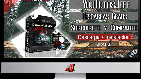 VSO ConvertXtoVideo Ultimate v2.0.0.11 FULL ESPAÑOL | 2016