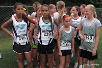 Swift Creek Middle School cross country girls