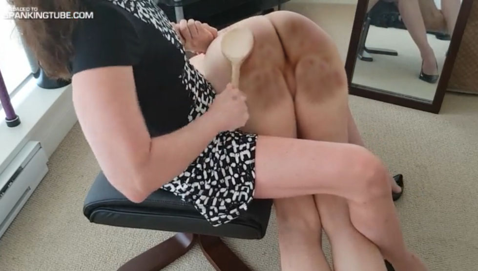 Obedient wife spank lock diaper, xxx long tube