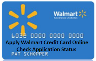 Walmart Credit card online application