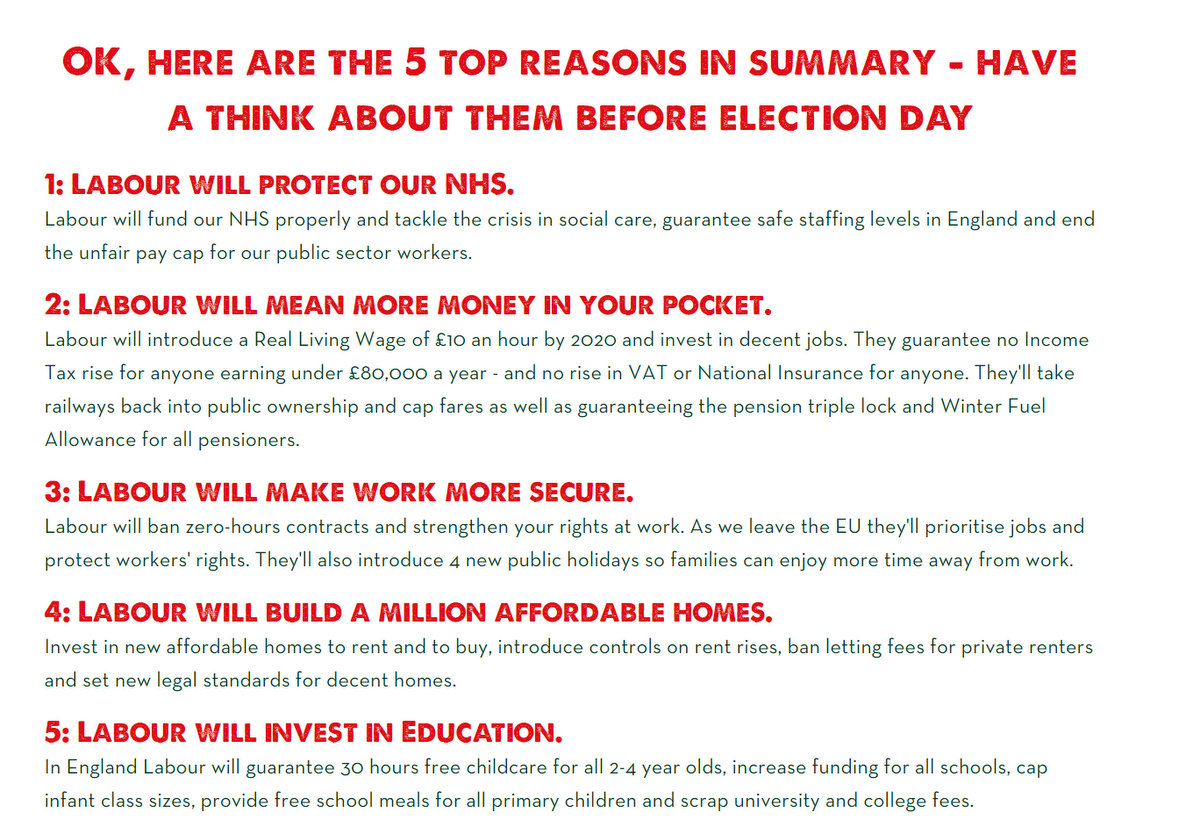 Johns labour blog why vote labour 5 top reasons if you belong to why vote labour 5 top reasons if you belong to a trade union spiritdancerdesigns Images