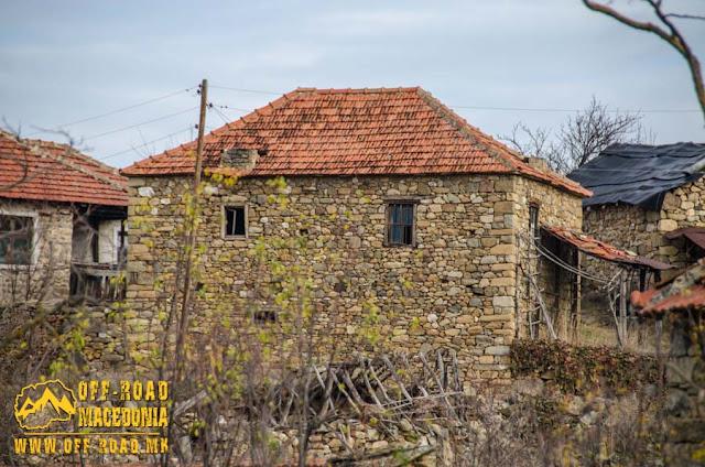 Traditional architecture in Chanishte village, #Mariovo, #Macedonia