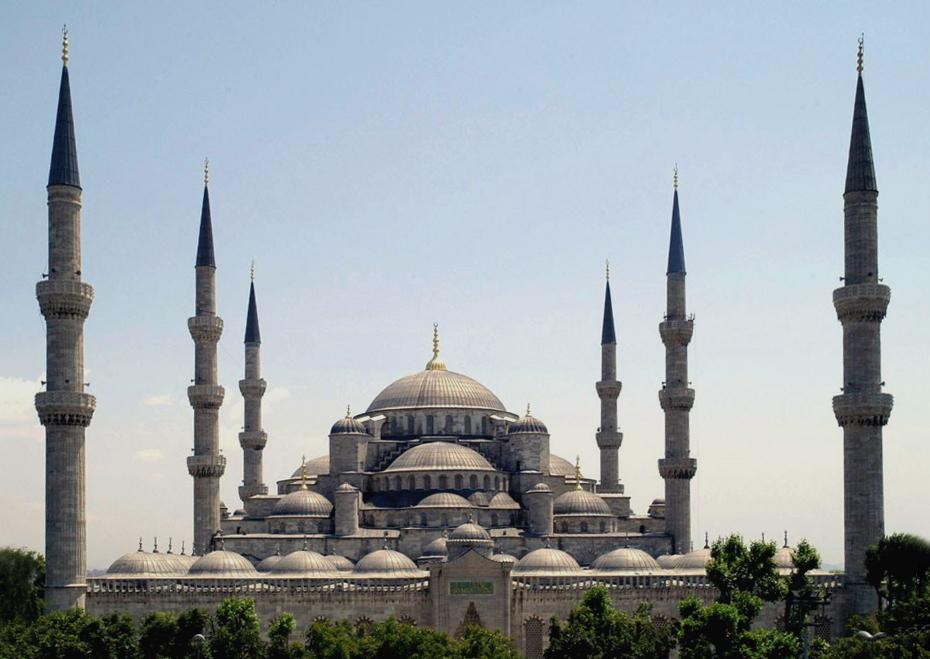 Kontraktor Kubah Masjid Dome Van Java Blue Mosque Masterpiece