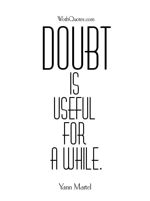 Doubt Quotes