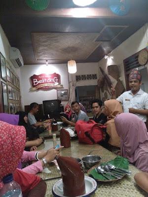 Rumah Makan Belitong Timpo Duluk di Belitung