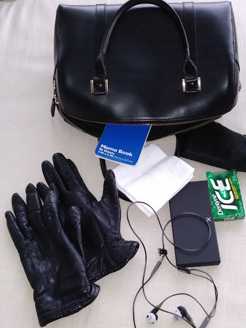 Spilled Handbag (Blogger Accident) by Janice Riggs