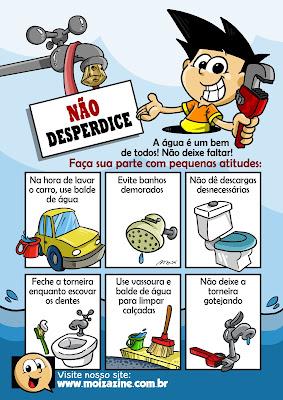 Não Desperdice Água