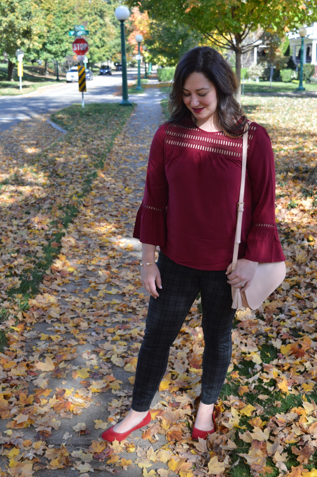 Bell sleeve outfit from Reitman's for fall