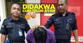 Thumbnail image for Didakwa Kerana Mencuri 30 Biji Telur Ayam Gred A