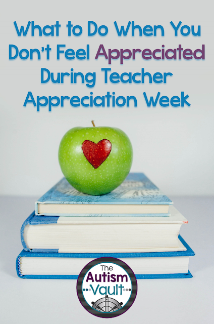 No matter where, who, or what you teach, it's easy to fall in to the trap of not feeling appreciated.  Us educators put a lot of time and effort in to what we do.  Read more about what you can do if you find yourself feeling unappreciated.