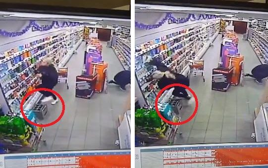 Στη Σκωτία, ένα φάντασμα επιτίθεται σε υπαλλήλους σούπερ μάρκετ? video