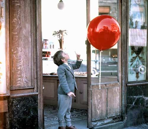 The Red Balloon French short film movie 1956