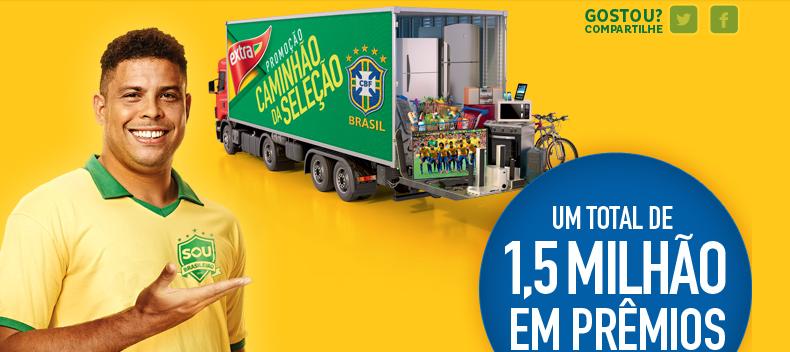 """Promoção Extra """"Caminhão Da Seleção"""""""
