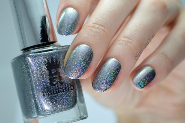 a england russian soul kalinka swatch holographic silver