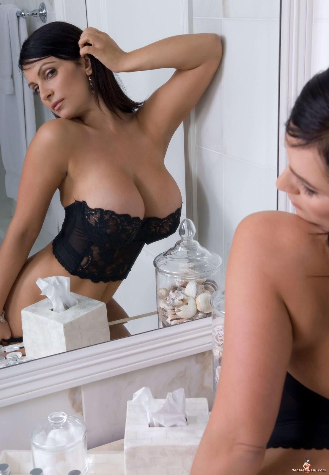 Denise Milani Shows Tits 91