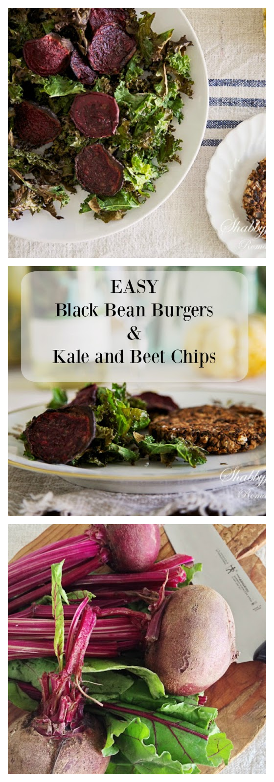 black-bean-burgers-kale-beet-chips