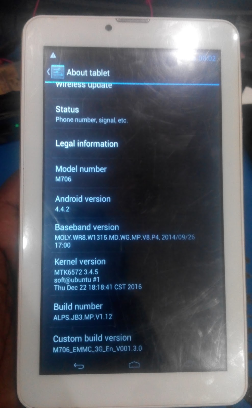 S COLOR U709 FLASH FILE TAB FIRMWARE MT6572 5 1 TESTED 100% STOCK ROM