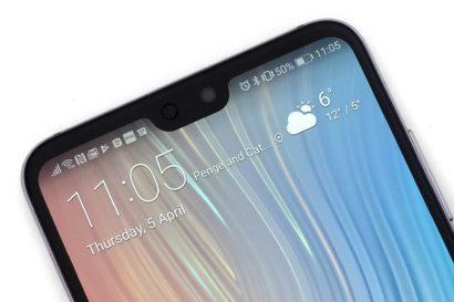 Huawei Mate 20 Didesang Render, Kamera depan dengan sistem pebgenalan wajah 3D