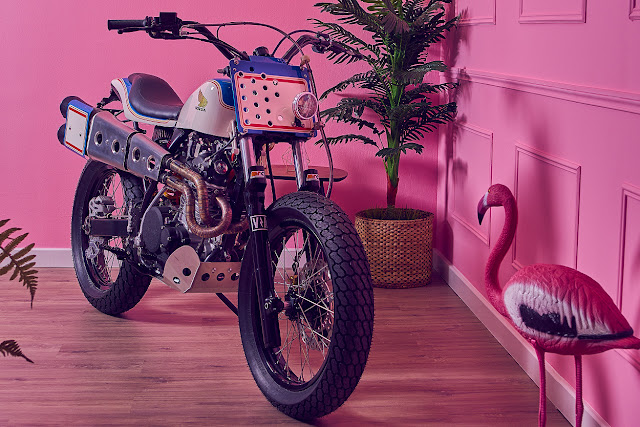 Honda XR600 By Vintage Addiction Crew Hell Kustom