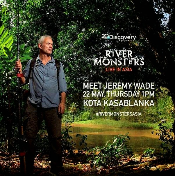 River Monsters Live in Jakarta