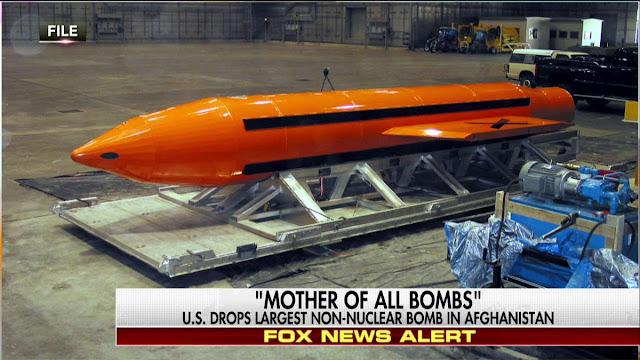 Οι ΗΠΑ έριξαν τεράστια μη πυρηνική βόμβα σε μέλη του ISIS στο Αφγανιστάν