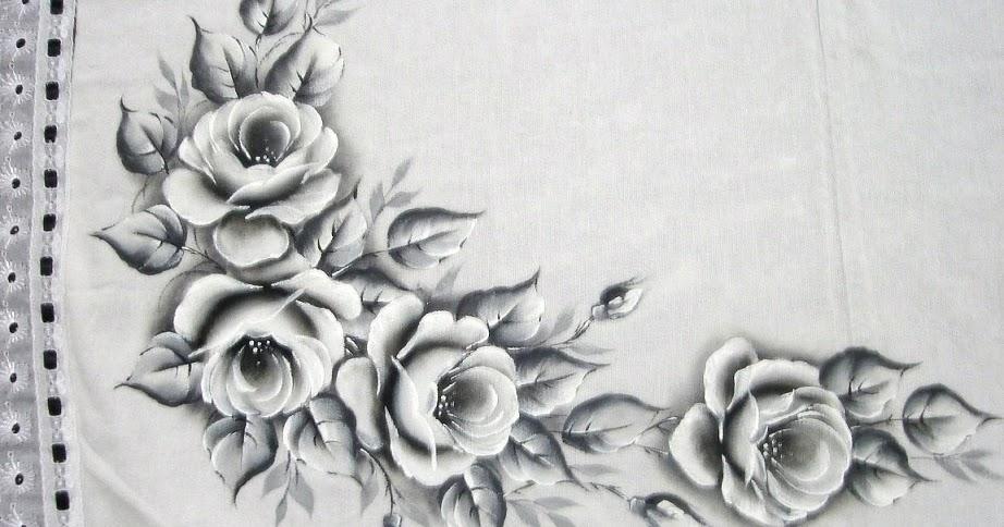 Populares Pintura em Tecido, Como fazer, Passo a passo, Riscos e muitas  GM07