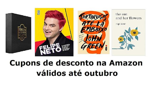 Amazon: cupons de desconto para outubro