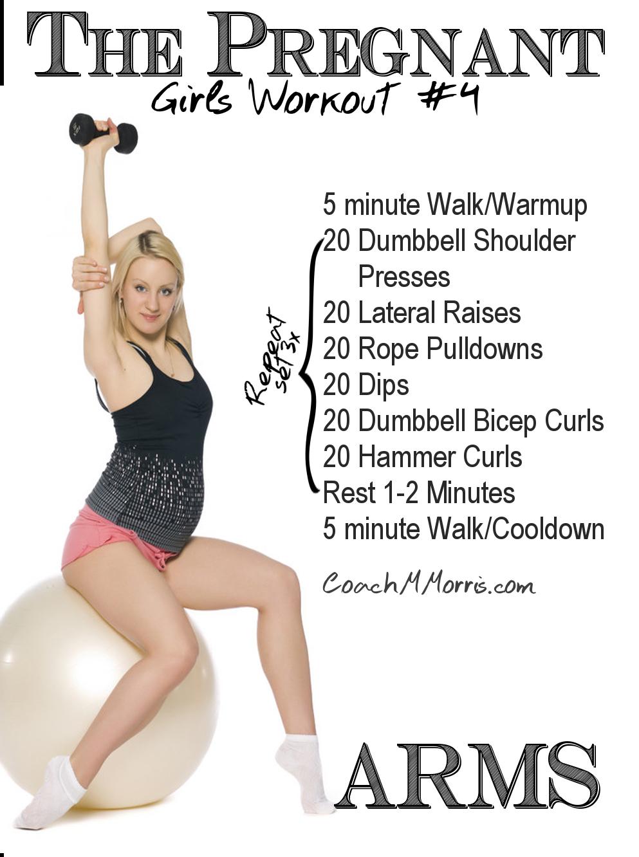 Pregnant fitness model porn