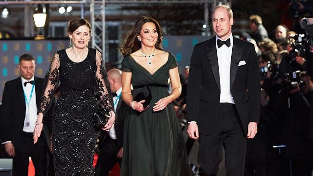 Kate i William na Gali BAFTA